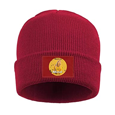 b15bc657 Amazon.com: HOPAPALA Billie-Eilish- Wool Cuffed Plain Beanie Warm ...