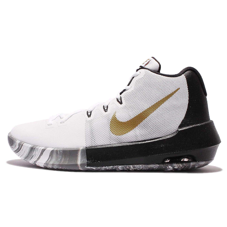 (ナイキ) エア インテグレート メンズ バスケットボール シューズ Nike Air Integrate 898453-101 [並行輸入品] B071V544JM 26.5 cm WHITE/METALLIC GOLD-BLACK