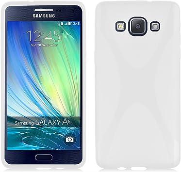 Cadorabo Samsung Galaxy A5 2015 (5) Funda de Silicona TPU DISEÑO X ...