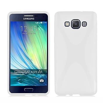 Cadorabo - Carcasa de Silicona para Samsung Galaxy A5 2015 (5 Unidades), Transparente