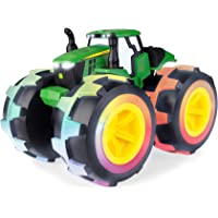 TOMY John Deere Monster Treads Deluxe Lightning Wheels Tractor