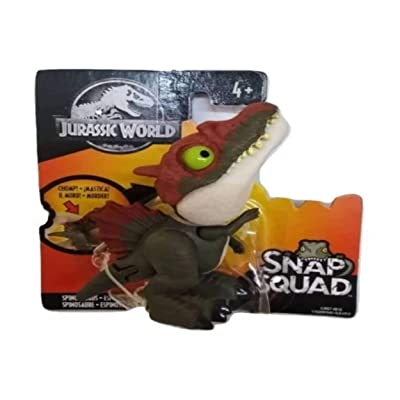 Jurassic World Snap Squad Small Mini Collectible, Spinosaurus: Toys & Games