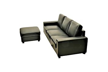 Amazonde Sofa Orlando 3 Sitzer Mit Hocker