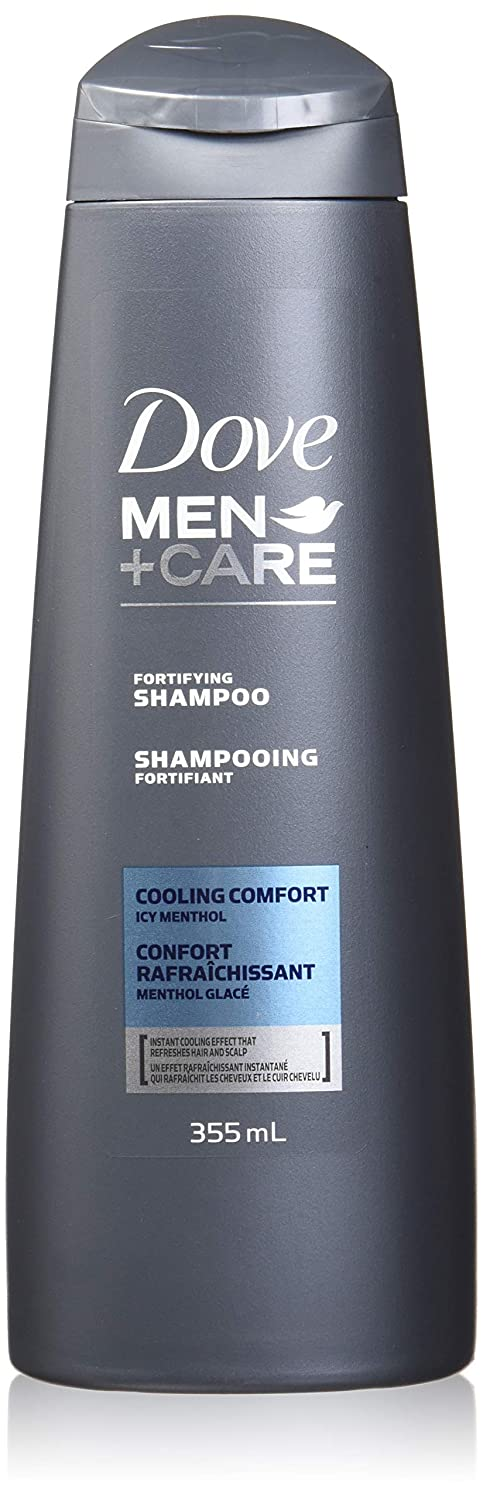 Dove Men +Care 2-in-1 cooling comfort shampoo, 355ml Unilever Canada