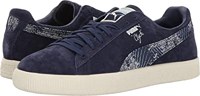 sports shoes 799b2 b2028 Puma Men's Clyde Marine FM Peacoat 11 D US: Amazon.co.uk ...