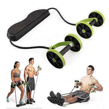 Aparato de abdominales con agarraderas para uso doméstico: Amazon.es: Deportes y aire libre