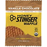 Honey Stinger Organic Gluten Free Waffle, Vanilla & Chocolate, Sports Nutrition, 1.06 Ounce (16 Count)