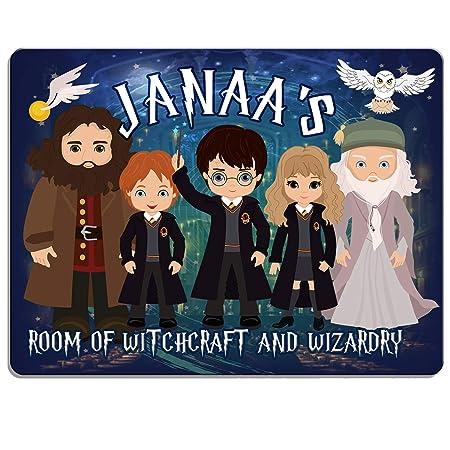 Personalizado Harry Potter Wizard dpe1 placa puerta de ...