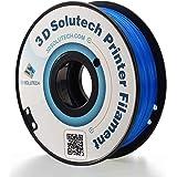 3D Solutech See Through Blue 1.75mm PETG 3D Printer Filament 2.2 LBS (1.0KG) - PETG175BLU