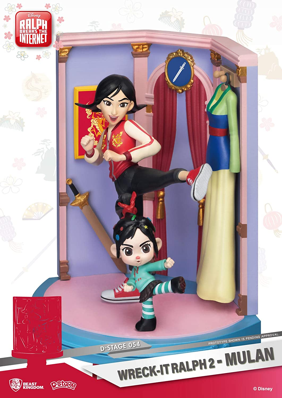 Mulan DS-054 D-Stage Statue Beast Kingdom Wreck-It Ralph 2
