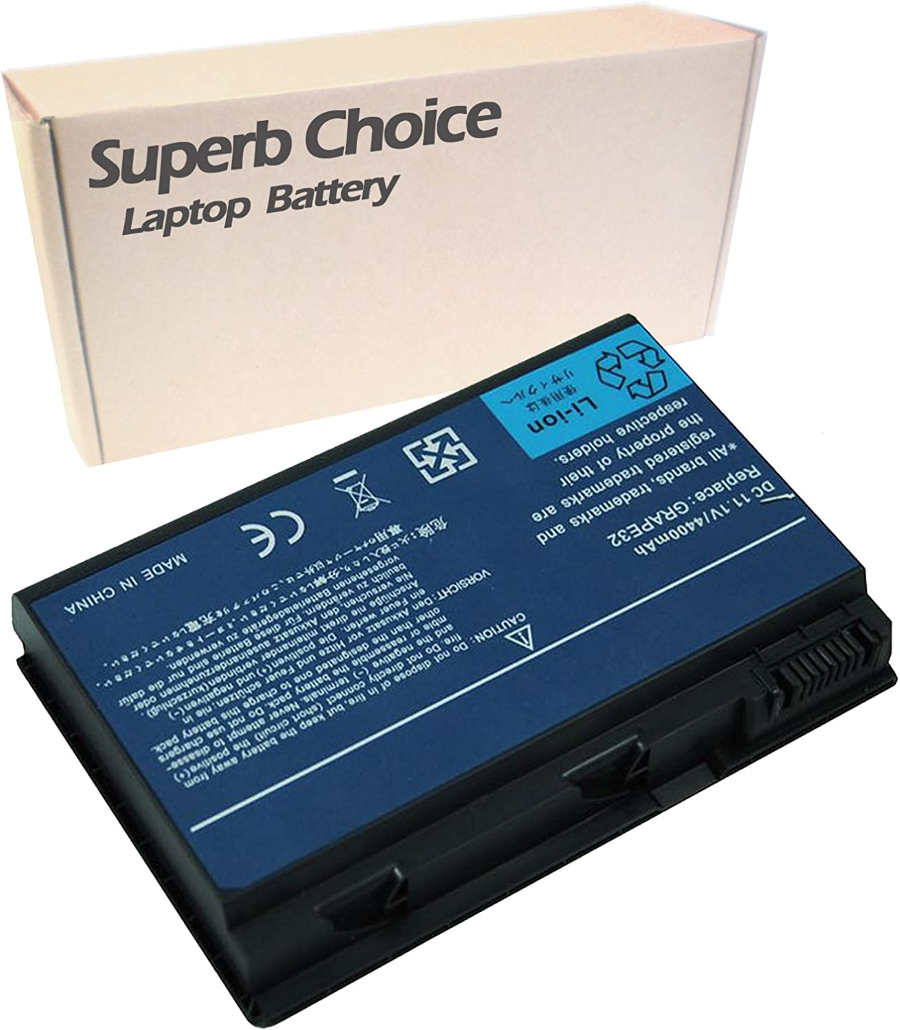 Superb Choice 6-Cell Battery Compatible with ACER Extensa 5420 5420-5687
