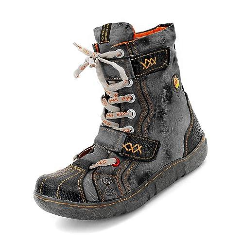 TMA difuntos Look Mujer Invierno de Botines, Piel y Piel sintética, mehere Colores, Tallas 36 - 42: Amazon.es: Zapatos y complementos
