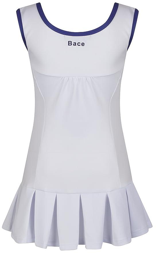 Vestido deportivo de tenis para niña