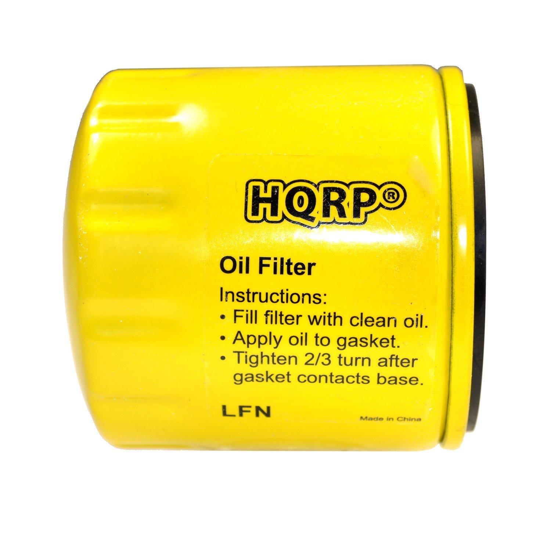 HQRP Oil Filter for KOHLER 7000 series KT715-745 / Courage SV470-610 SV710-740 / Confidant ZT710-740 / Aegis LH630-LH755 LV625 LV675 LV680 Series Lawnmower Engines + HQRP Coaster