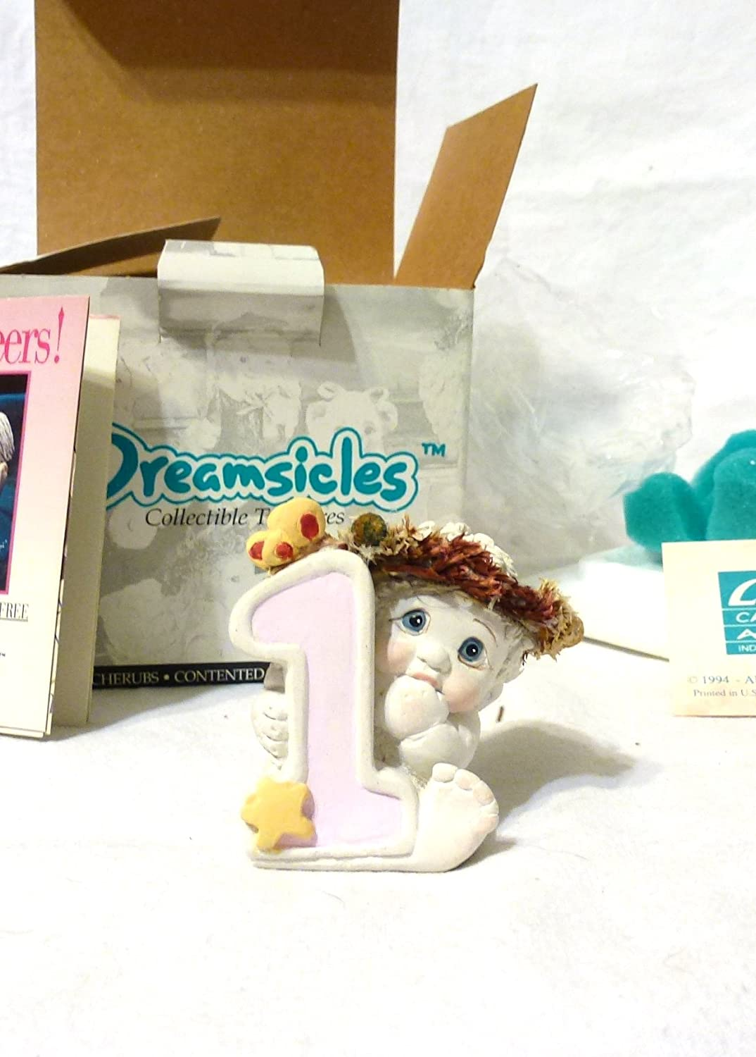 DREAMSICLES #8 NUMBER  RETIRED 8th BIRTHDAY ANGEL COLLECTORS ITEM NIB DC068
