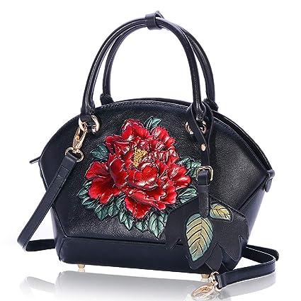 Borse da donnaBorsa da fiori vintage ricamata in stile