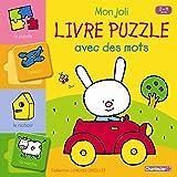 Mon joli livre de puzzle avec des mots (2-4 ans)