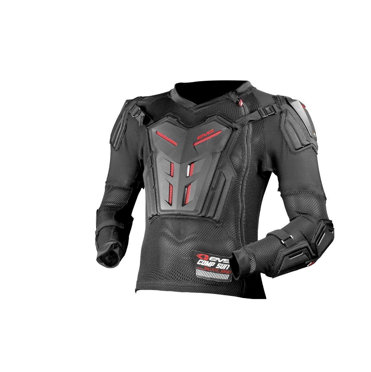 Black, Medium EVS Sports Unisex-Child Comp Suit Ce Version