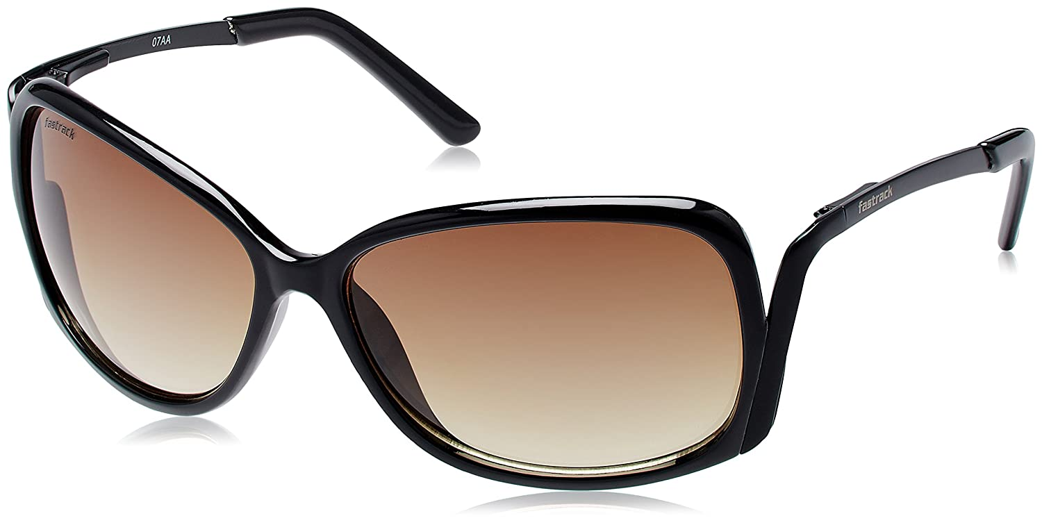 Fastrack Oversized Women s Sunglasses - (C046BR3 59 Brown)  Amazon.in   Clothing   Accessories 732e48b2c0