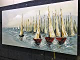 V-inspire Paintings,24x48 Inch Oil Hand Painting