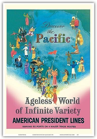 Amazon.co.jp: 太平洋を発見 - アメリカンプレジデントラインズ ...