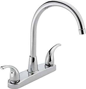 Peerless Tunbridge 2-Handle Kitchen Sink Faucet, Chrome P299568LF