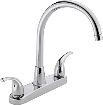 Peerless P299568lf Choice Two Handle Kitchen Faucet Chrome Touch