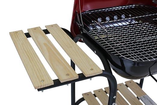 Landmann Holzkohlegrill Corso : Landmann grill holzkohlegrill grillwagen mit praktischem