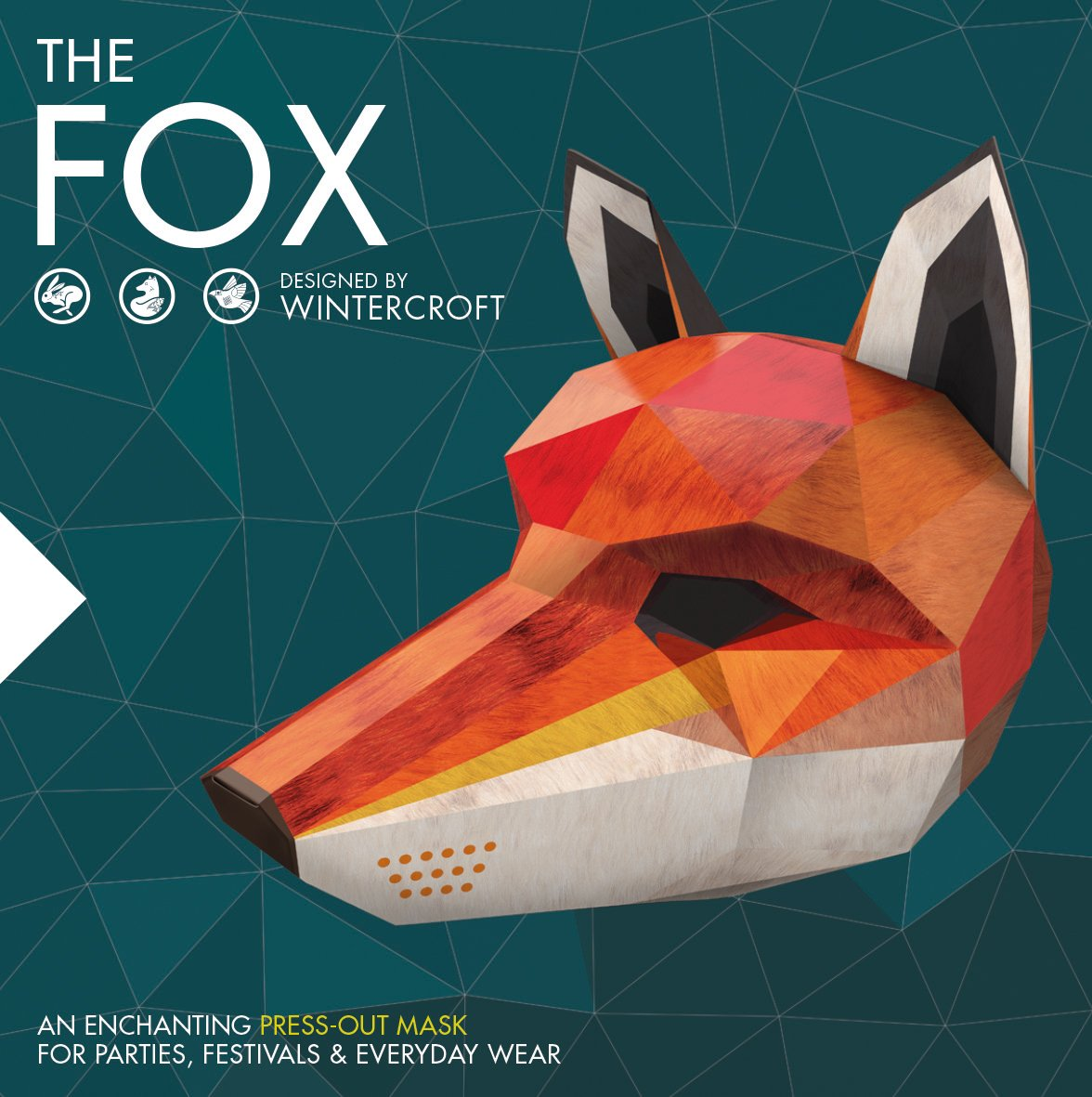 The Fox Designed By Wintercroft A Beautiful Press Out Mask For Festivals Parties And Everyday Wear 9781780977317 Books