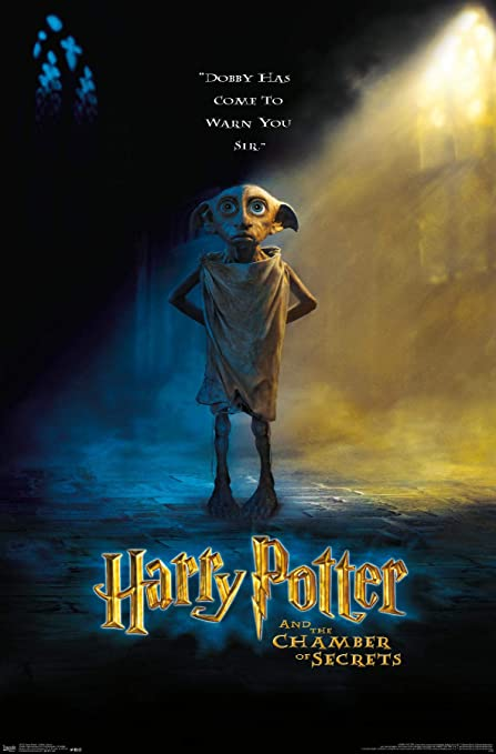 unframed home decorations Dobby Harry Potter book page print wall hangings