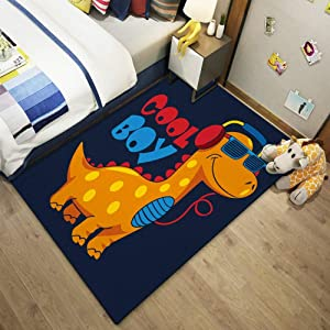 QUD Cute Pattern Accent Rug Kitchen Rugs Non Skid Accent Bedroom Area Carpet 10/24 (Color : L, Size : 80cmX160cm)