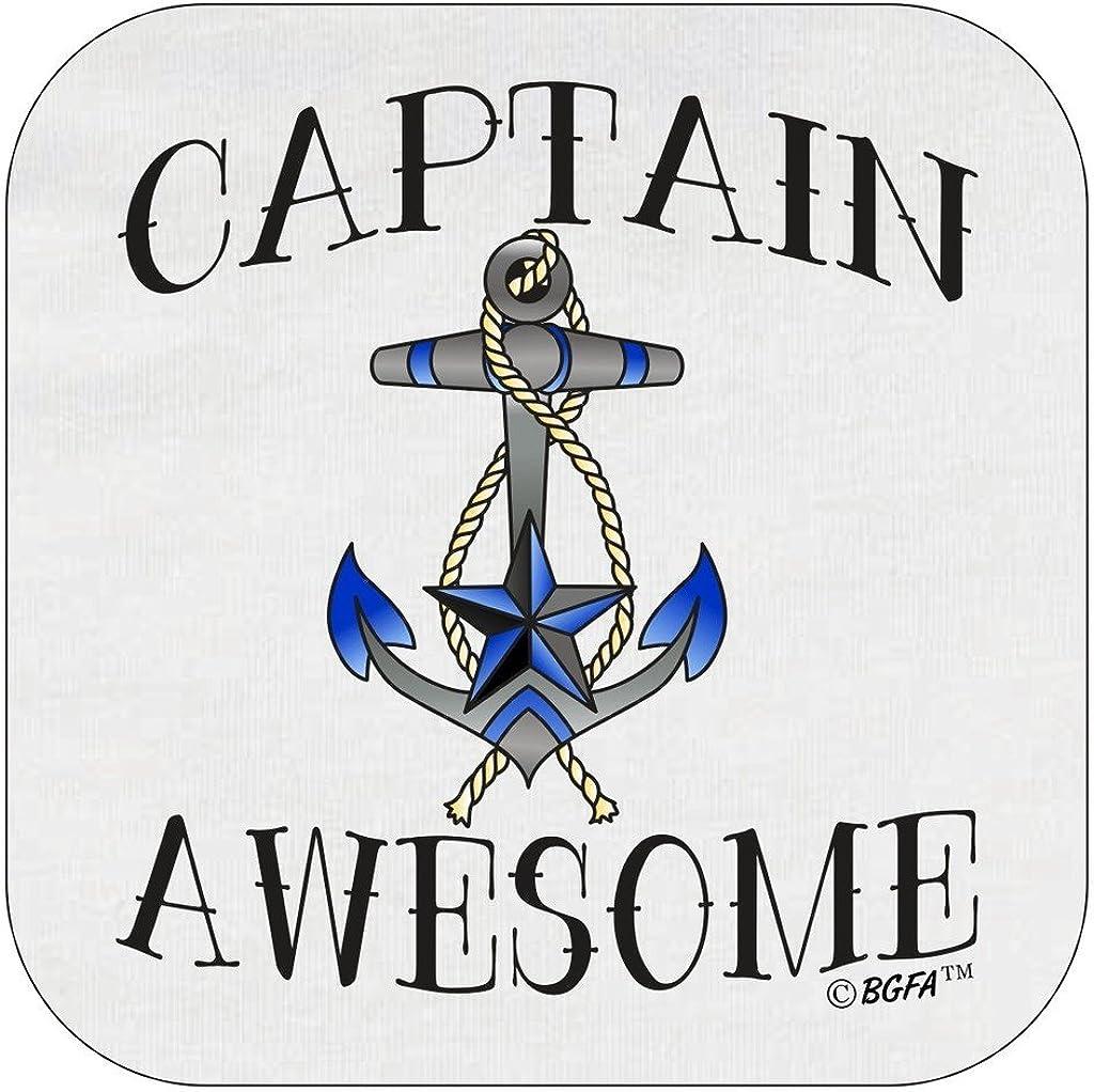 TooLoud Captain Awesome Superhero Style Infant T-Shirt Dark