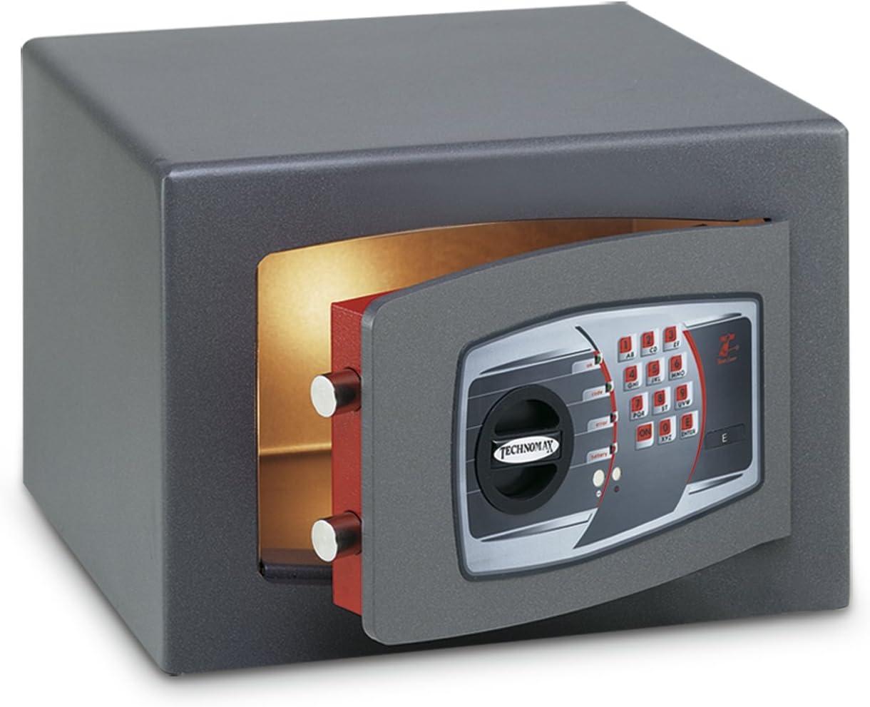 Technomax DMT//5P Cassaforte da tavolo elettronico