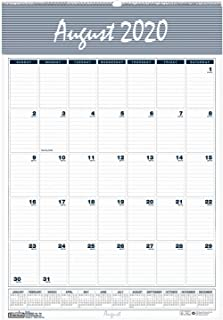 product image for House of Doolittle 2020-2021 Monthly Wall Calendar, Academic, Bar Harbor, 12 x 17 Inches, August - July (HOD352-21)