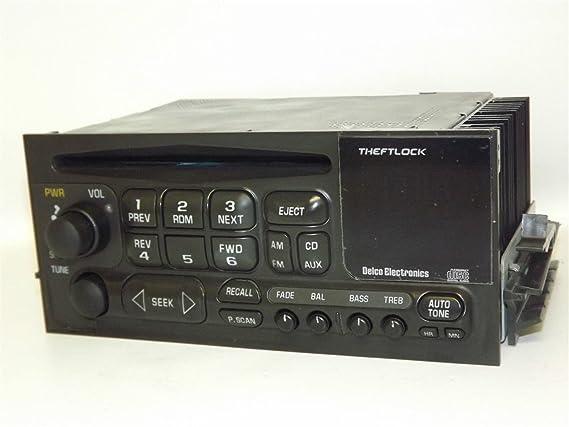 amazon com 1 factory radio am fm cd player radio compatible with Chevy Factory Radio Wiring Diagram