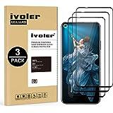 VGUARD 3 Unidades Protector de Pantalla para Huawei Nova 5T / Honor 20 / Honor 20 Pro, [Cobertura Completa] Cristal Vidrio Templado Premium, [Dureza 9H] [Anti-Arañazos] [Sin Burbujas]