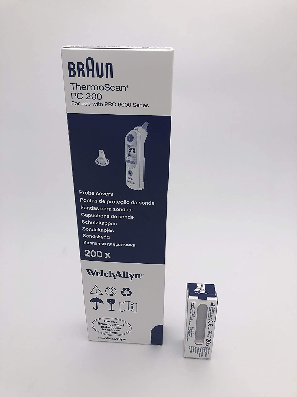 Braun sonde Couvre Thermoscan lentille de remplacement oreille Filtre Capuchons 1 To 40 packs
