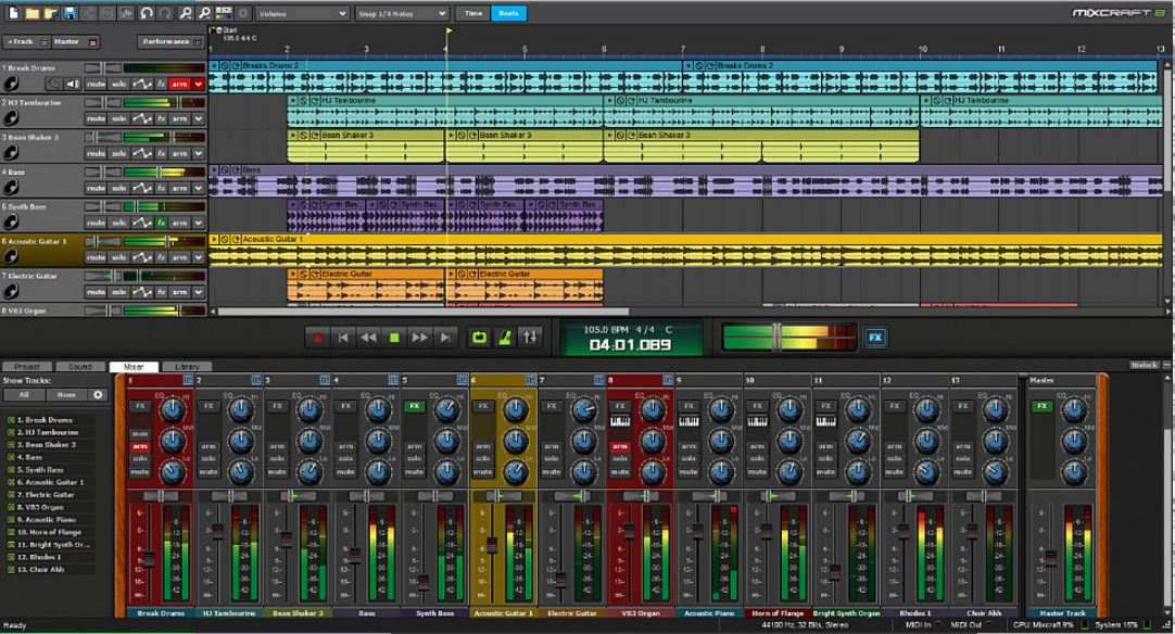 Mixcraft 8 Recording Studio [Download] by Acoustica