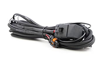 71e7%2Bs8rYlL._SX355_ amazon com morimoto heavy duty light bar wiring harness automotive morimoto wiring harness at eliteediting.co
