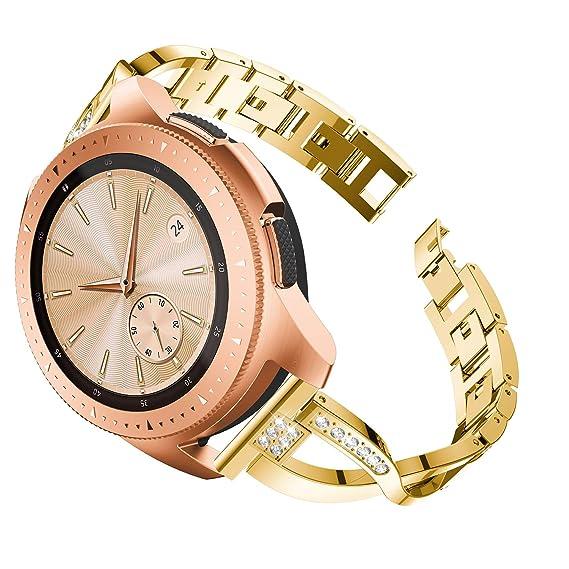 Amazon.com: Compatible Samsung Galaxy Watch 42mm Watch Band ...
