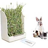 Guinea Pigs Hay Feeder Rack, Rabbit Mess-Free Alfalfa Dispenser,Hay Manger Rack for Small Animal, Rabbit, Guinea Pig…