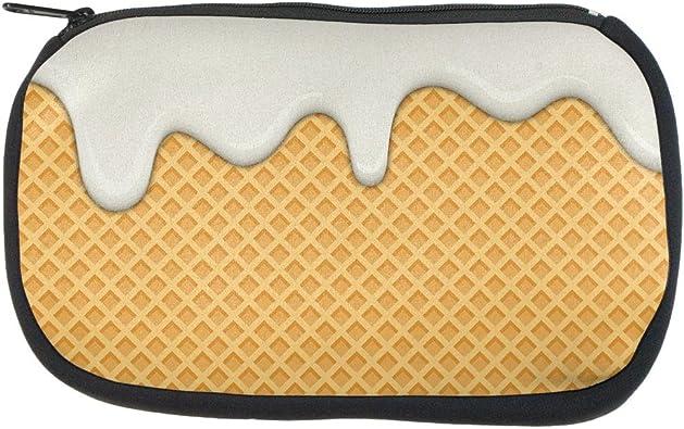 Melting Vanilla Ice Cream Cone Coin Purse
