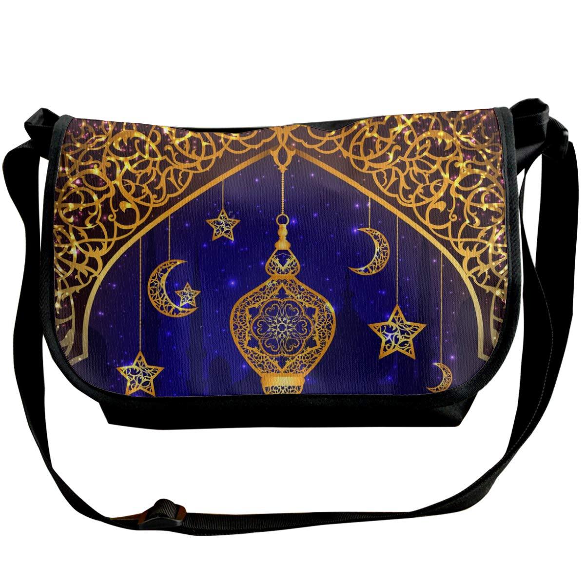 Ramadan Background Unisex Crossbody Single Shoulder Bag Messenger Bag