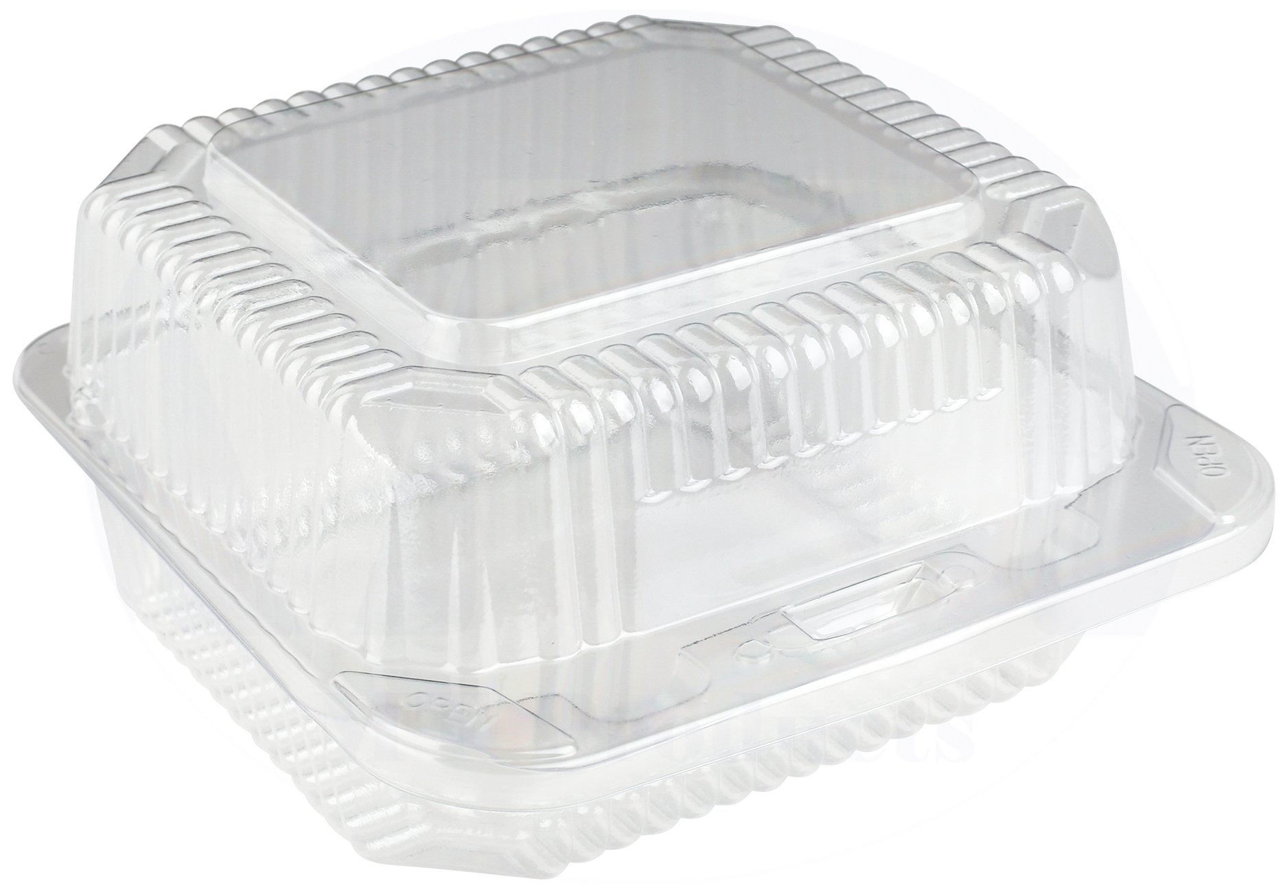6 Clear Plastic Food Container Art Project Oven
