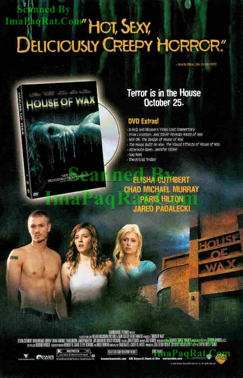 Amazon Com House Of Wax Chad Michael Murray Paris Hilton Great Original Photo Print Ad Posters Prints