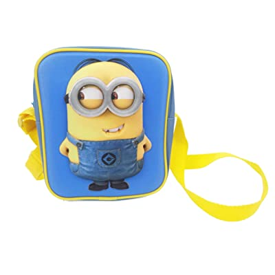 Minions Eva Crossbody Hand Luggage, 20 Cm, 2 Liters, Blue