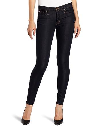 81a58ae029c Hudson Jeans Women's Nico Mid-Rise Super Skinny 5-Pocket Jean, Chelsea,