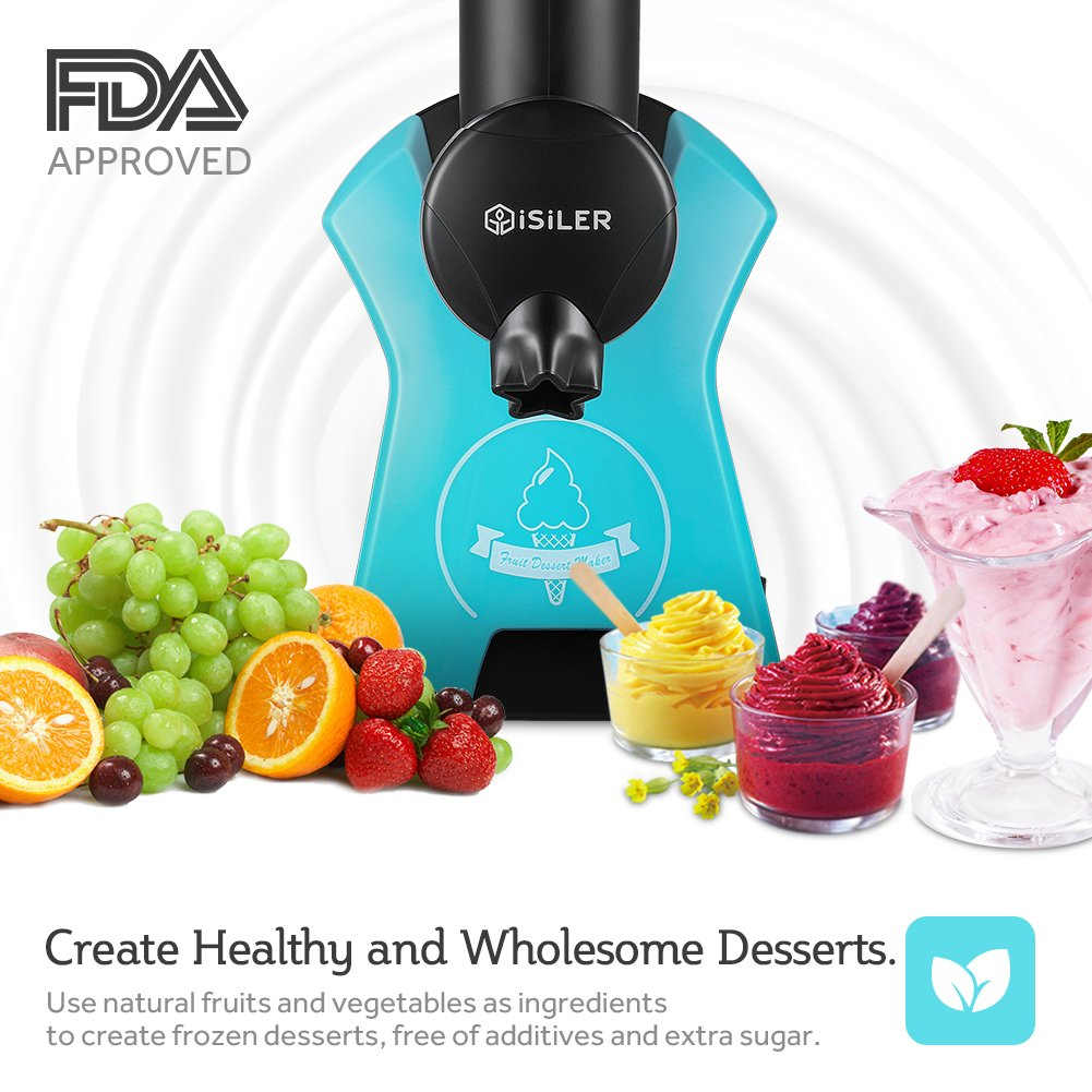 Amazon.com: Frozen Fruit Dessert Maker, iSiLER Automatic Healthy ...