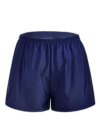 19f9fed1961 Firpearl Women's Swim Bottom Board Shorts Sport Boyleg Trunk Swimwear Bottom  - Blue -