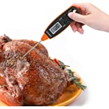 SUNAVO MT-24 Instant Read Turkey Meat Thermometer Waterproof Digital Cooking Food Thermometer with Long